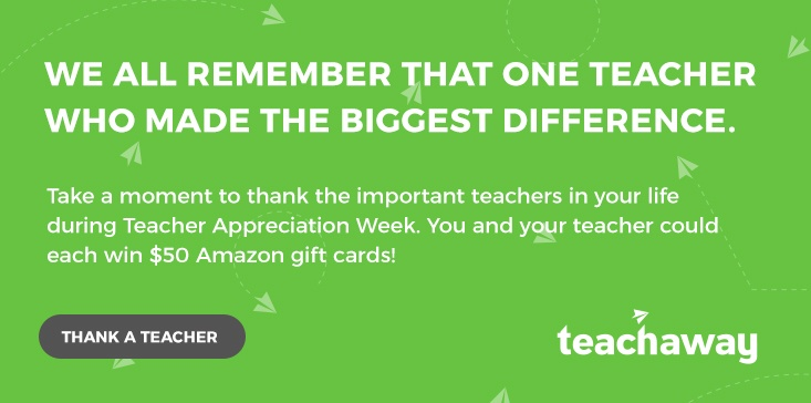Teacher Appreciation Week Contest